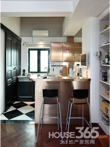 厨房橱柜效果图 完美厨房开启好心情:岛台型橱柜是目前使用最广泛的
