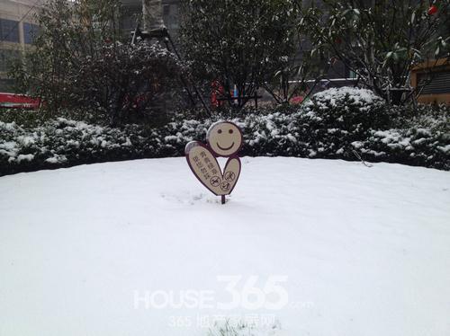 东方龙城雪景