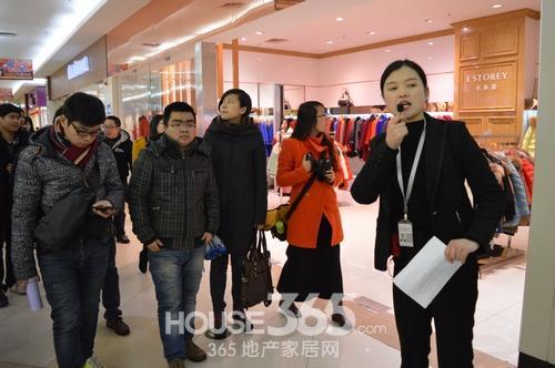 芜湖媒体参观合肥国购广场