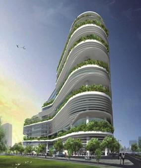 绿色建筑成商场赚钱新门路