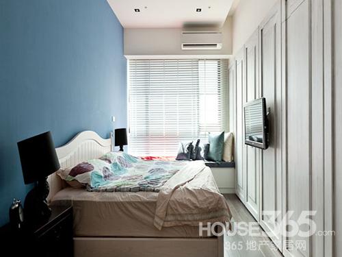 小户型女生卧室小清新设计图展示
