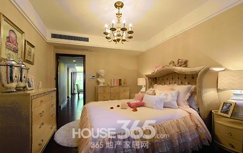 侧卧室欧式装修图片