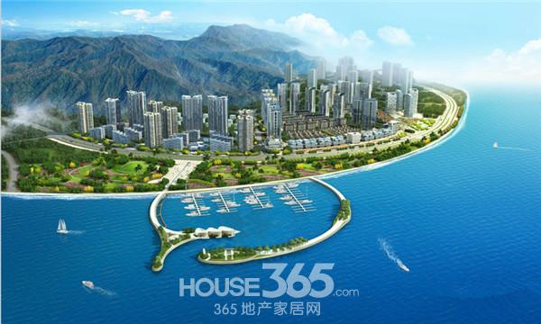 格力海岸现在售蝶式高层两房四房单位图片