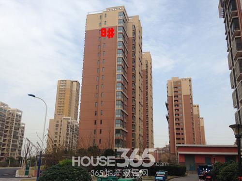 牡丹祥龙湾9#楼实景图 365地产家居网/摄