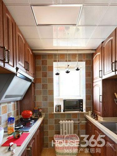 厨房装修效果图 大爱美式田园风格