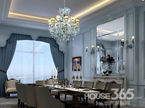 餐厅背景墙效果图 感受欧式豪华风
