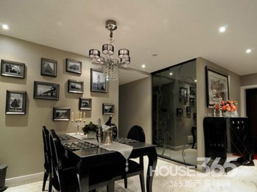 餐厅背景墙效果图 感受欧式豪华风-365地产家居网
