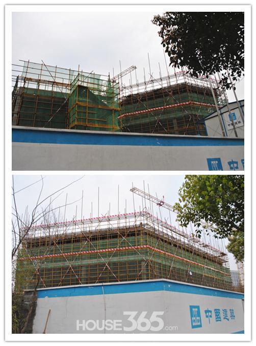 中建生活广场已经开始建设