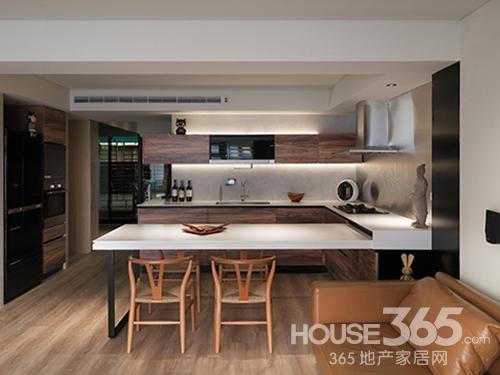 开放式厨房装修效果图 感受美家居