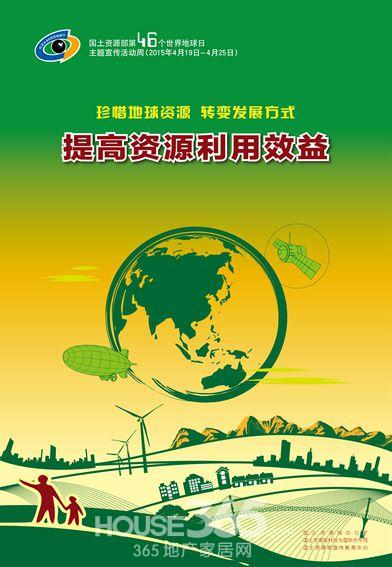 第46个世界地球日主题宣传活动周海报