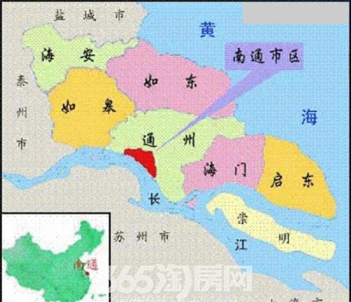 通州市是南通市的县级市还是属于南通市区?