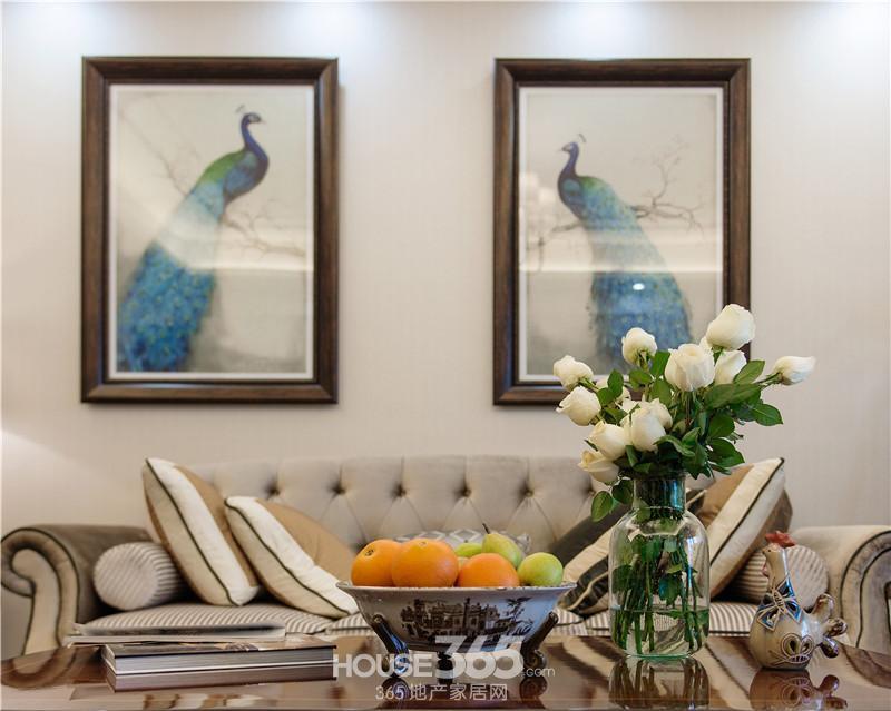 中海原山纯美式风格案例赏析