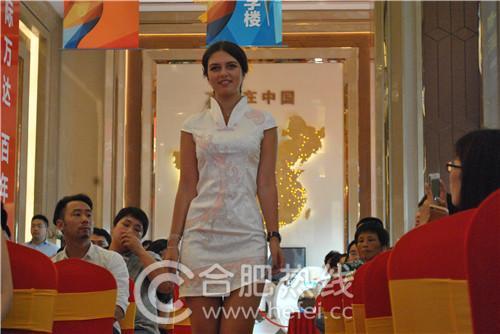 外籍模特唯美中国风t台秀