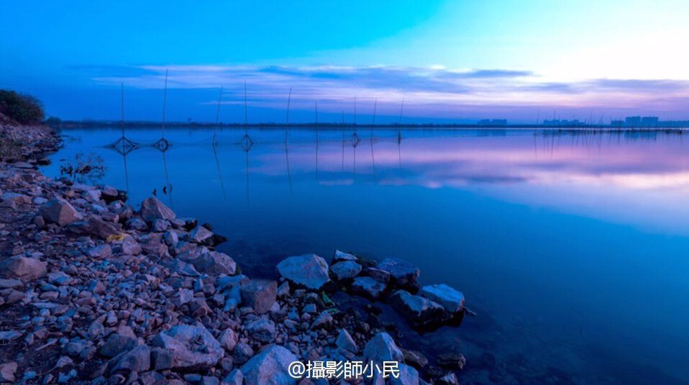 芜湖龙窝湖烟波浩渺水天一色