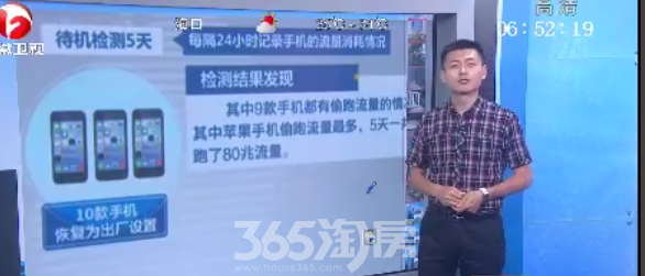 央视曝多款手机偷跑流量