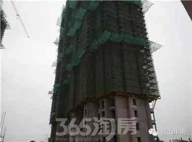 形象进度 30层主体结构施工