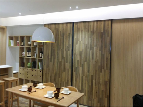 日式的简约风格设计,全都是木质的家具,自然美!