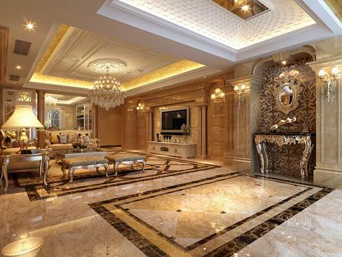 欧式奢华客厅风格
