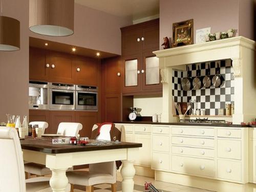 欧式古典复古风格 之厨房设计图赏
