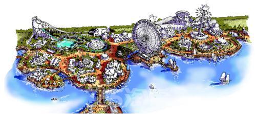无锡的世界级主题乐园,设计图纸刚刚流出
