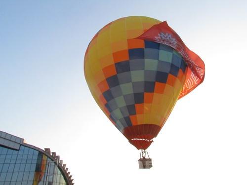 世茂滨江:放飞自由放飞梦想 热气球带你飞