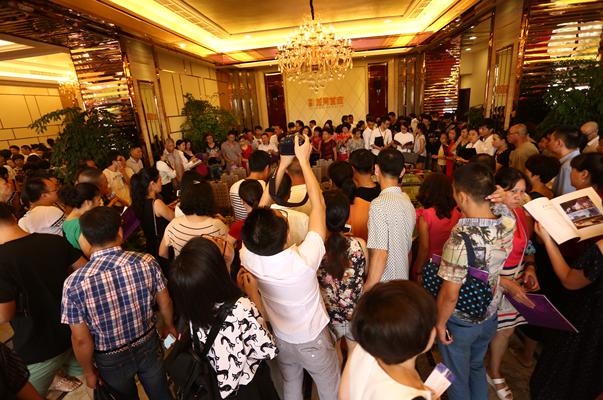 中梁·龙湾首府贵宾展示厅盛大开放