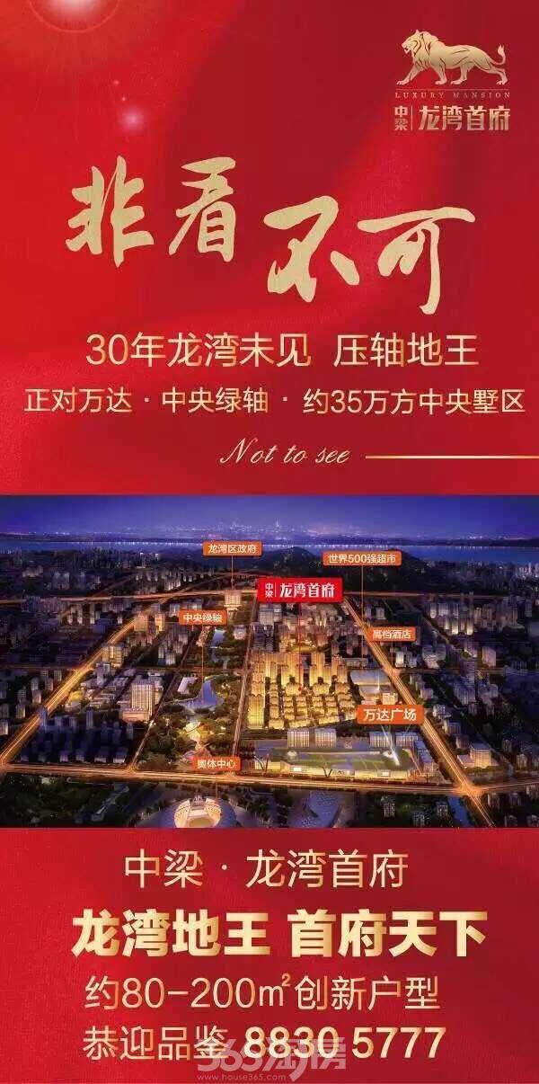 中梁龙湾首府 展厅开放
