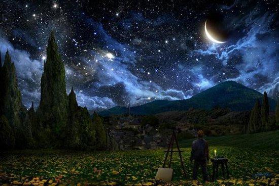 【经世龙城】《星空》之下 与梵高探索神秘的宇宙