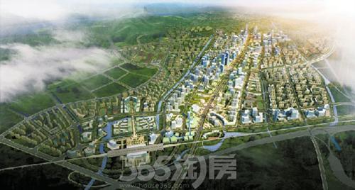 臨平新城規劃圖(資料圖片)圖片