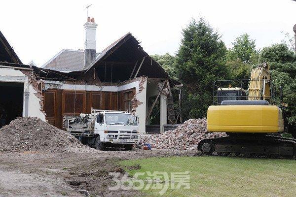 中国买家拆墨尔本百年老宅遭当地居民抗议(图)