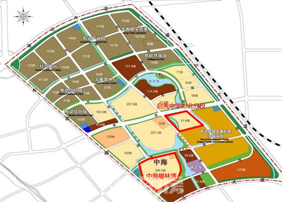 百年启秀落定市北西城中海现房已成初中首选哪个学区港闸北京图片