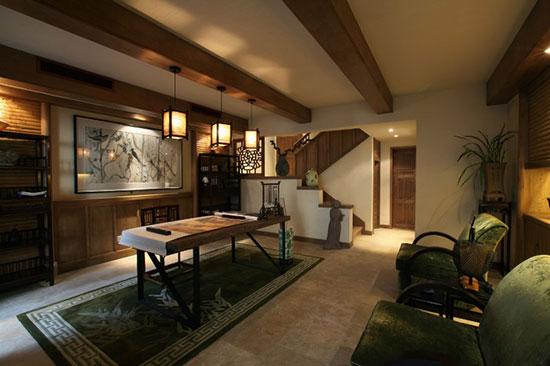古色古香中式风情 古典禅意复式家