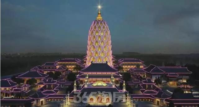 位于常州千年古刹宝林禅寺内的观音塔