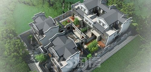 芜湖伟星和院:六户一合 革新当代联排别墅