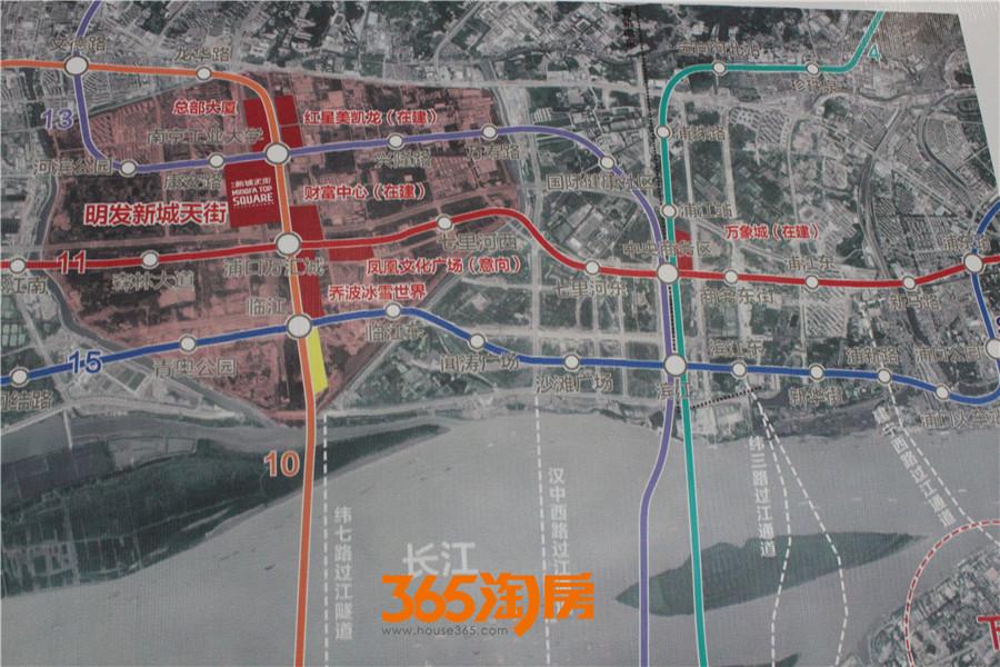 浦口新城未来将怎样?看看区位规划图即可知!-暴走实探浦口商业