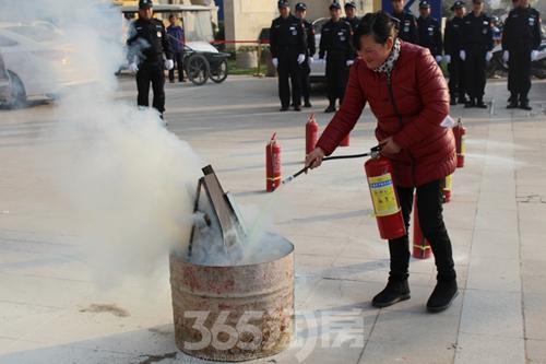 金浩仁和天地物业冬季消防演习圆满结束|图