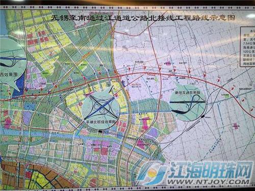 锡通过江通道公路北接线征地拆迁动员会召开