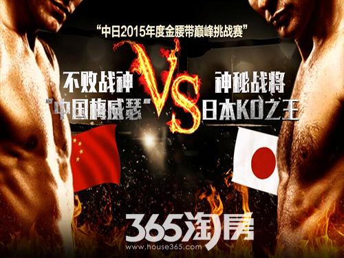 2015世界拳王巅峰对决国际万达邀您见证