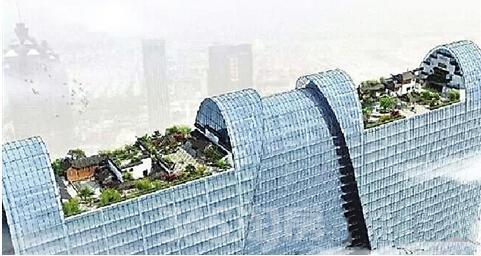 东方之门屋顶花园效果图