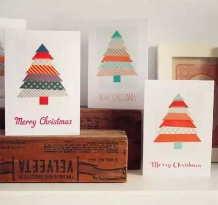 手绘diy圣诞贺卡,送给你爱的人