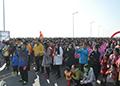 高清组图|惠尔健康跑顺利开跑 1500余人9.2公里越野PK