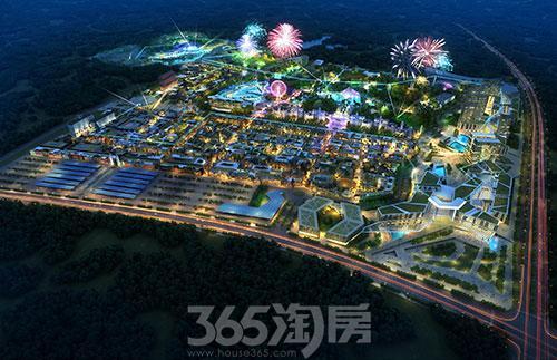 贵州乐华城是乐华恒业集团继西安乐华城后开辟的又一大型文化旅游项目