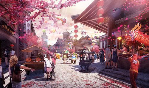 """贵州乐华城将打造""""通往贵州旅游的大门"""