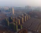 合肥滨湖核心区航拍 高楼耸立合肥的未来在这里|组图