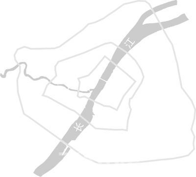 """武汉""""1+6""""城市空间格局"""