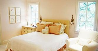 舒适温馨明亮浪漫精美的卧室设计
