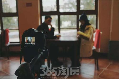 新丝路大学生国际微电影节特训营在乐华城拍摄