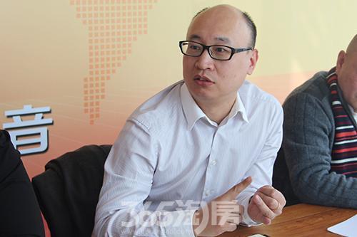 西美地产副总经理张磊