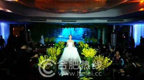 合肥古井假日酒店2016森系主题婚礼秀圆满落幕体验神奇的森林