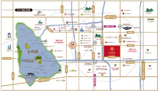 苏州十中手绘地图